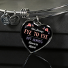 Image of Heart to Heart Necklace/ Bangle, optional engraving