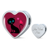 Image of Catbird Love-Charm w/ optional bracelet, engraving