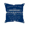 Image of Indianapolis Football Fan Personalized Pillow Cover - Sweet Dragon Mama