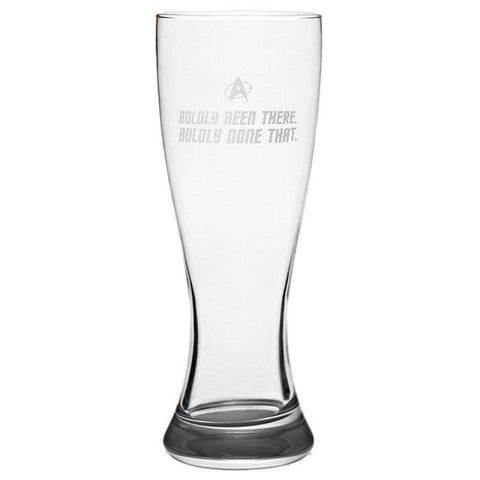 Boldly Been There Pilsner Glass - Sweet Dragon Mama