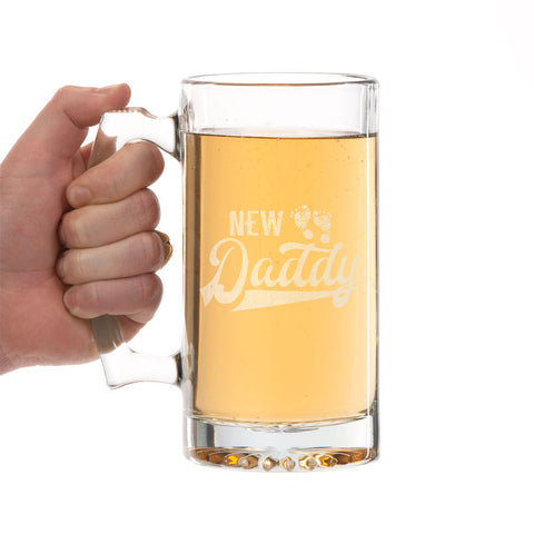 New Daddy Beer Mug