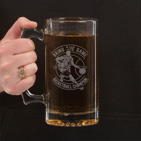 Bring the Game Beer Mug 16 oz.