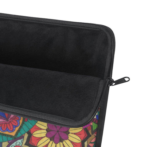 Sunflower Color Burst Laptop Sleeve