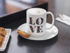 Image of Floral Love 15 oz. White Mug