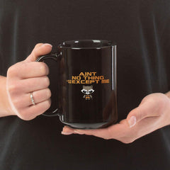 Ain't No Thing Black Mugs