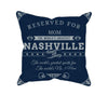 Image of Nashville Football Fan Personalized Pillow Cover