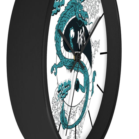 Yin Yang Dragon Wall clock