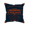 Image of Chicago Football Fan Personalized Pillow Case