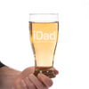 Image of The iDad Pilsner Glass Laser Etched