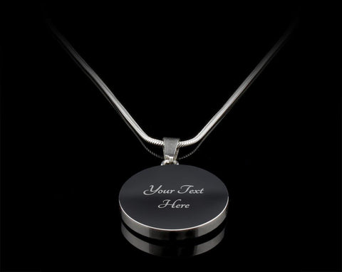 Mom Family Heart-Silver/Gold Necklace, engraved - Sweet Dragon Mama