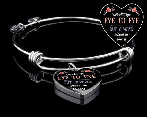 Heart to Heart Necklace/ Bangle, optional engraving