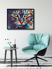 """Jungle Kitty""- Premium Canvas Gallery Wrap - Sweet Dragon Mama"