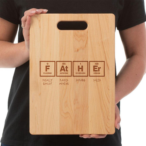 Father Elements Cutting Board - Maple