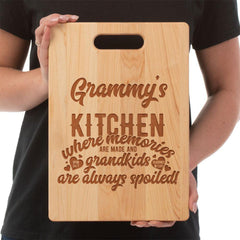 """Grammy's Kitchen""- Custom Cutting Board - Maple"