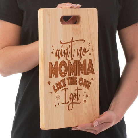 Ain't No Mama Cutting Board - Maple - Sweet Dragon Mama