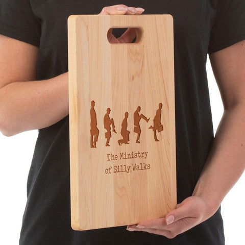 Ministry of Silly Walks-Cutting Board - Maple