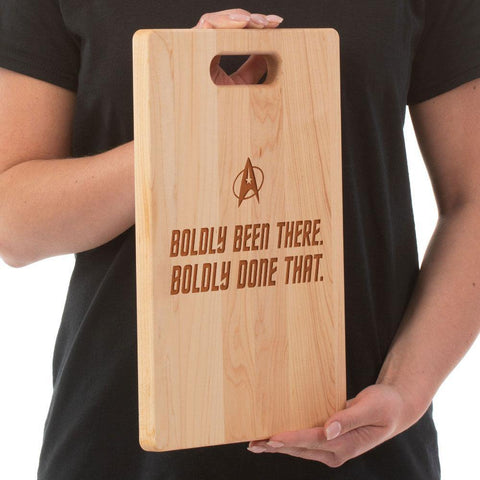 Boldly Been There- Cutting Board - Maple