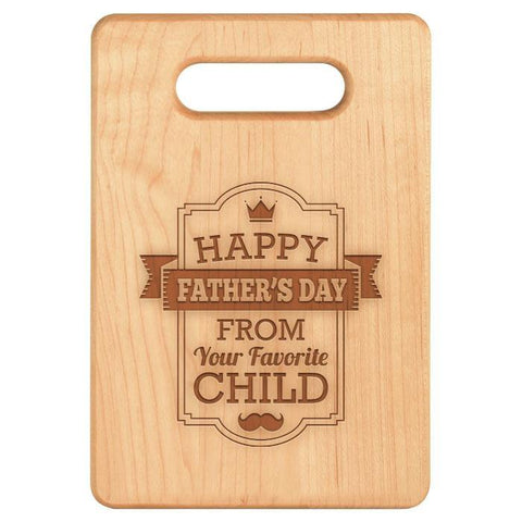 Your Favorite Child Cutting Board - Maple