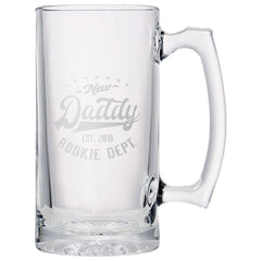 Rookie Daddy Beer Mug