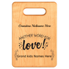 Image of Another Word for Love- Personalized Cutting Board - Maple