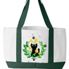 Image of Garden Cat Tote Bag - Sweet Dragon Mama