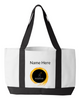 Image of Pilates Place Polestar Training Tote-personalized,special order - White/Black