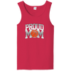 Image of Proud Basketball Mom Unisex Tank Top