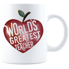 World's Greatest Teacher 11 oz  Coffee Mug