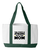 Image of The Force is Strong Tote Bag - Sweet Dragon Mama