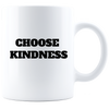 Image of Choose Kindness- White Coffee Mug - Sweet Dragon Mama
