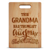 Image of This Grandma Awesome Grandkids - Custom Cutting Board