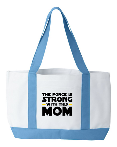 The Force is Strong Tote Bag