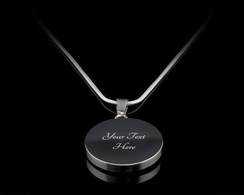 First My Mother Silver/Gold Necklace, engraved