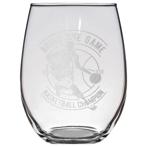 Bring the Game Stemless Wine Glass 21 oz.