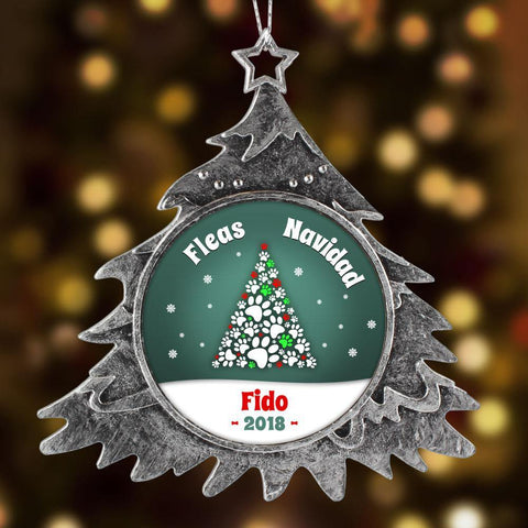 Fleas Navidad-Personalized Christmas Ornament