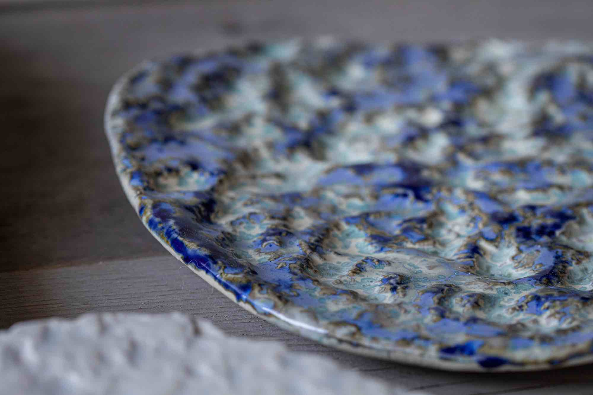 Culinairy Michelin star food Exquisit dining ceramic plates and bowls