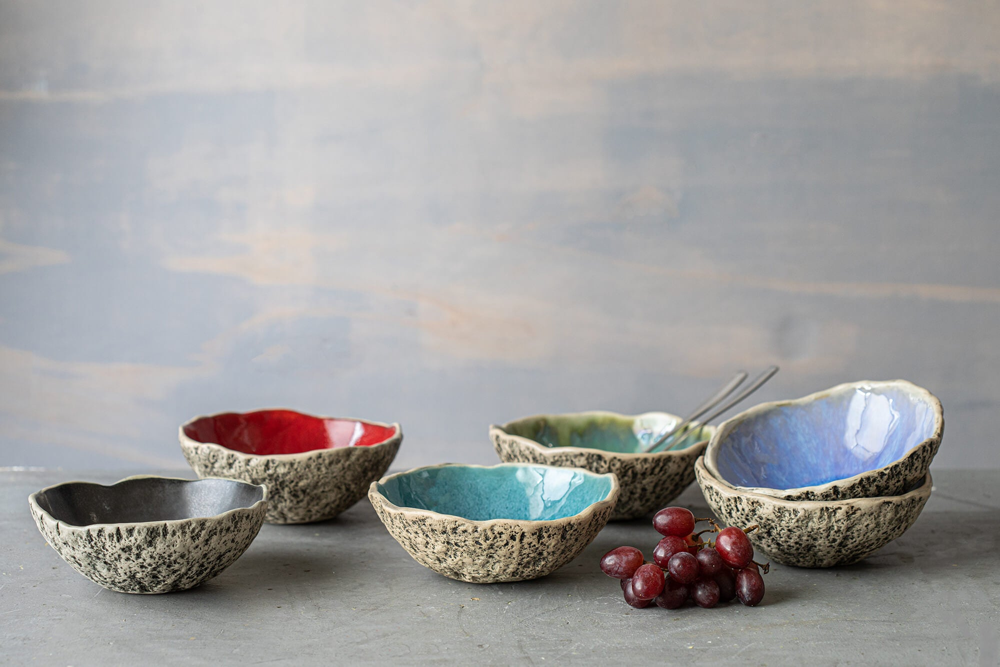 Handmade pottery bowls handmade ceramic fruit bowl