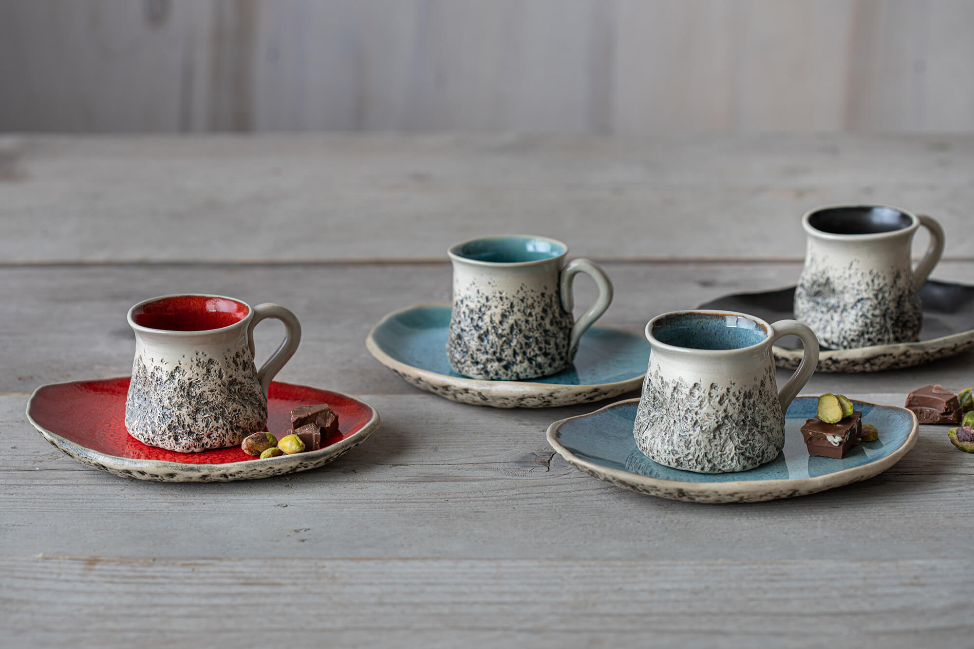 Unique Ceramic Espresso Cups With Saucer Kari Ceramics