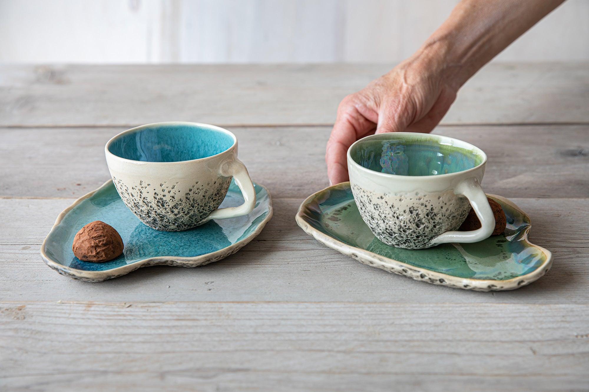 Handmade Ceramic Mugs And Cups Pottery Mugs Ceramic Tumblers Kari Ceramics