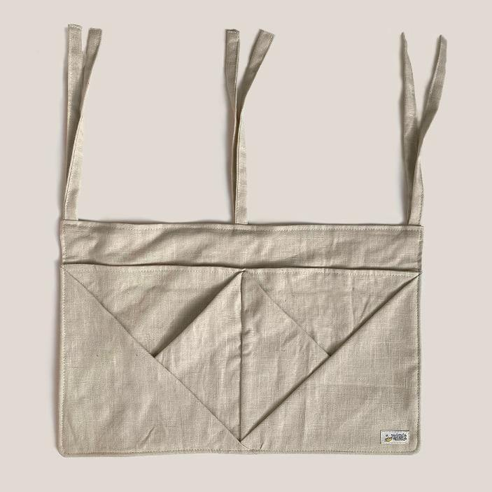 Hanging Linen Storage with Pockets • beige/natural - Umbrella Amarela
