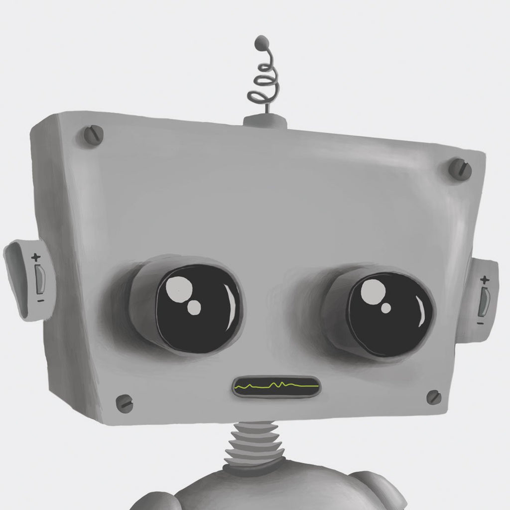 Print Baby Robot - square
