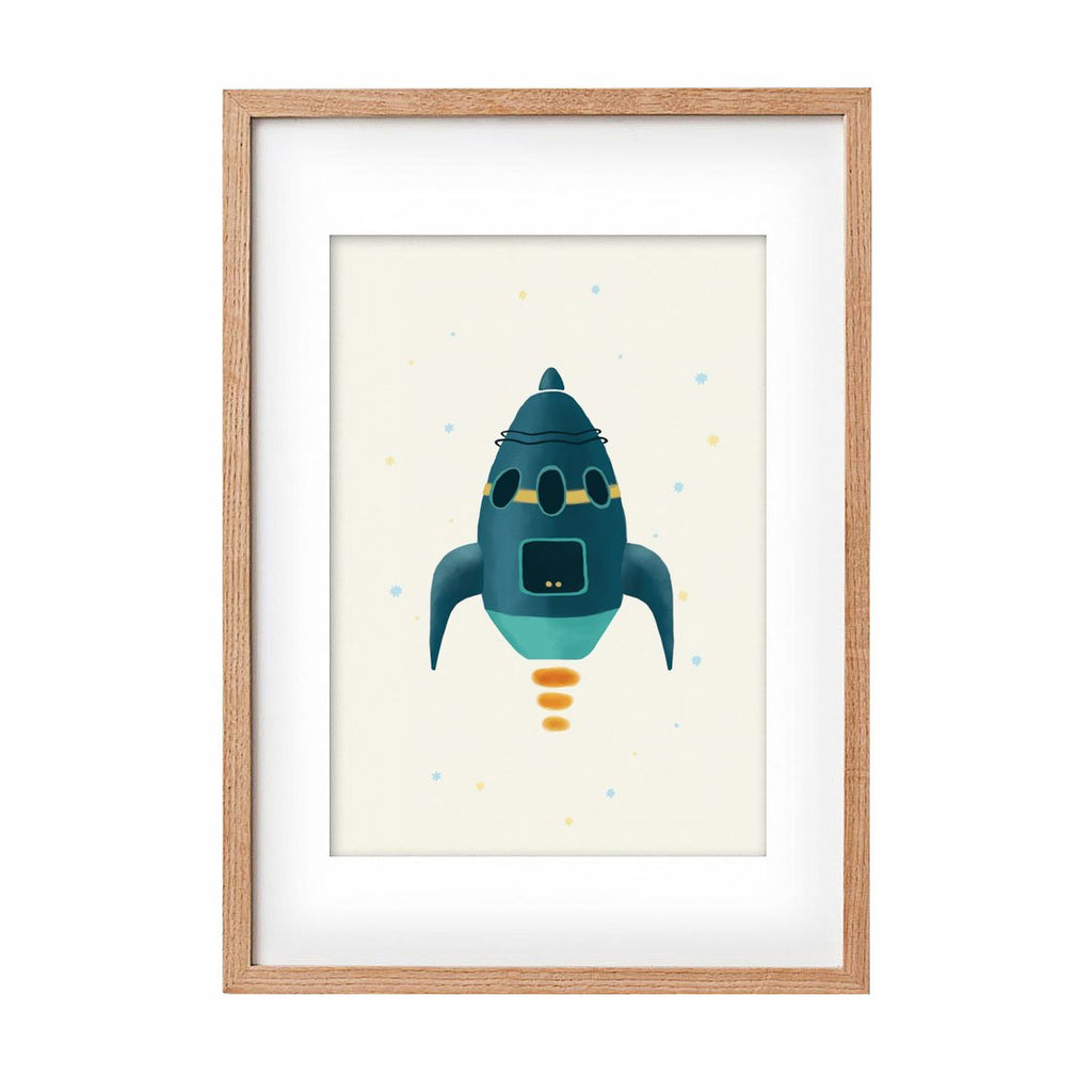 Print Rocket - Fatty - Umbrella Amarela
