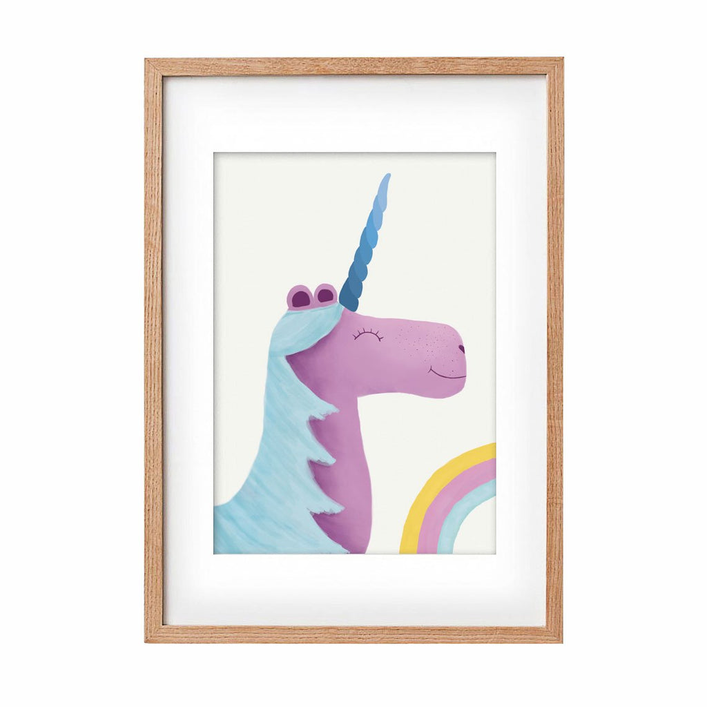 Unicorn - purple & blue