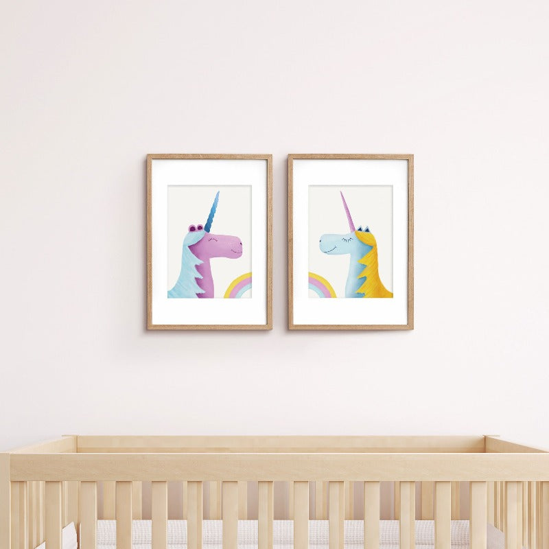 Prints Unicorns - Umbrella Amarela