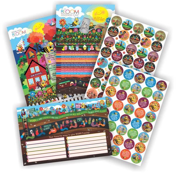 Bloom Your Room™ Posters and Stickers Starter Set