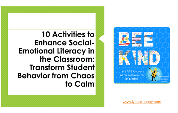 10 Social-Emotional Learning Activities To Improve Classroom Relationships and Behavior