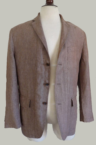 banana republic linen jacket blazer