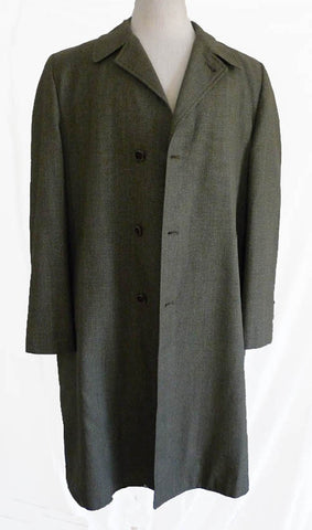 desmonds coat all weather therman 1960 sz46