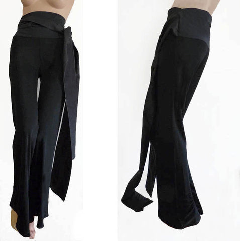 jean paul gaultier high waist black pants NWT