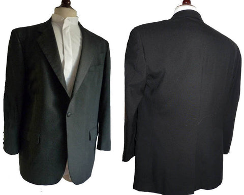 givenchy monsieur tuxedo 42 black dinner jacket
